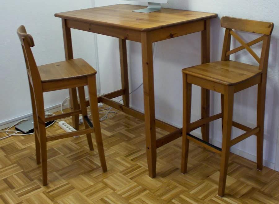 Baaripöytä ja tuolit ikea – Lähellä tulisija