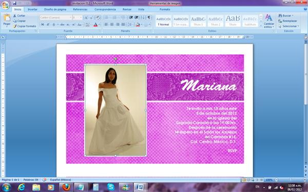 foto 1 abre el archivo de word de la invitación