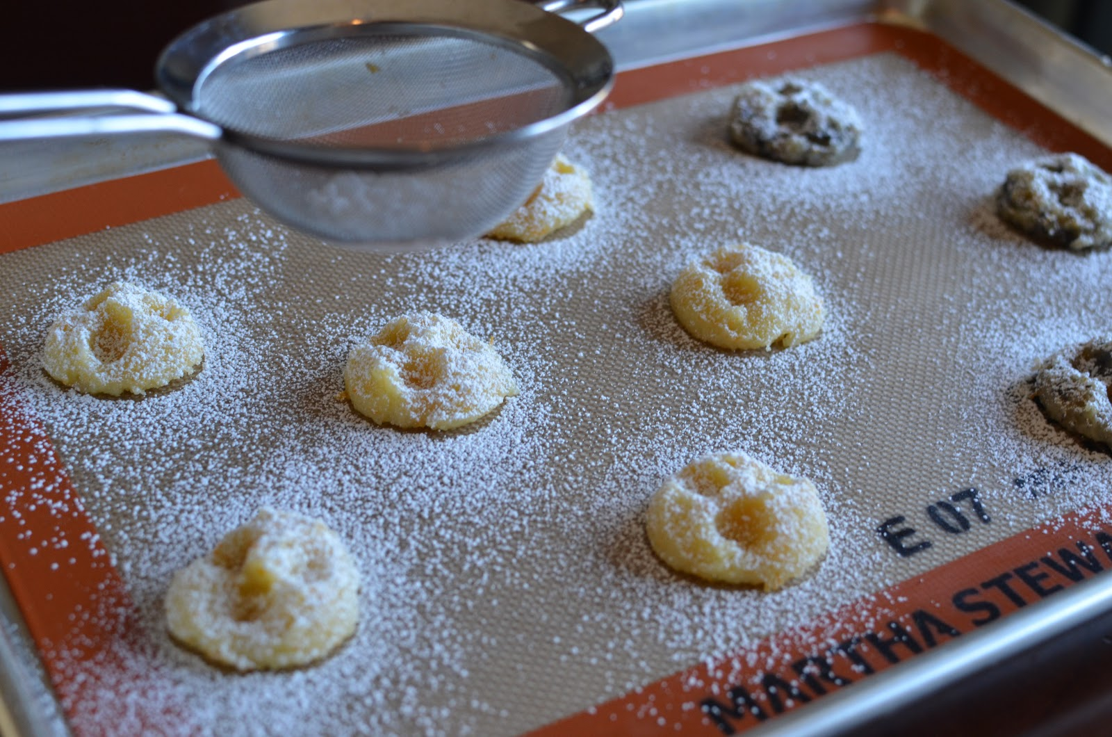 and the cookies look great after baking. The confectioners' sugar ...
