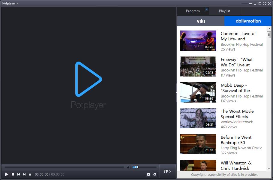Daum Potplayer 1 6 55390 For 32 Bit 64 Bit Windows App Download Zone