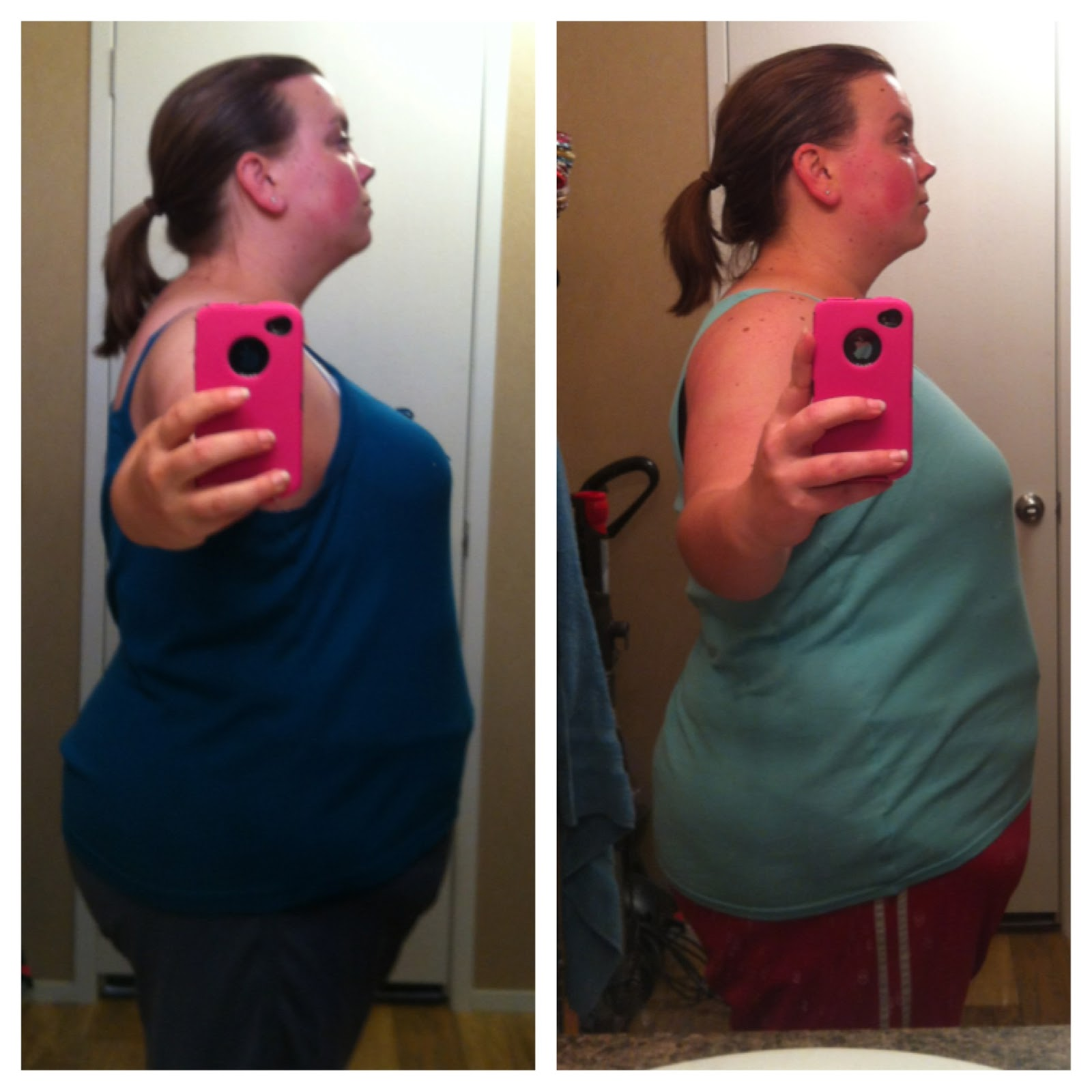 Plank Challenge Results Before And After 31 days of jillian challenge