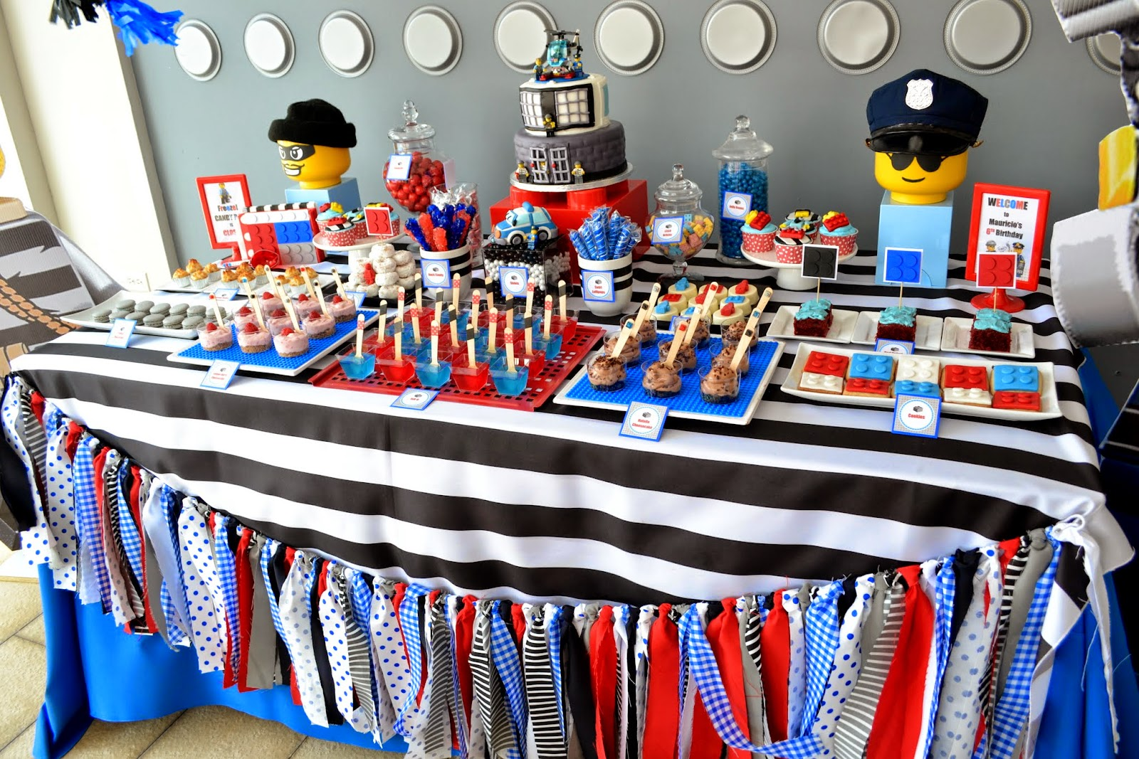 Partylicious Events Pr Lego City Police Birthday