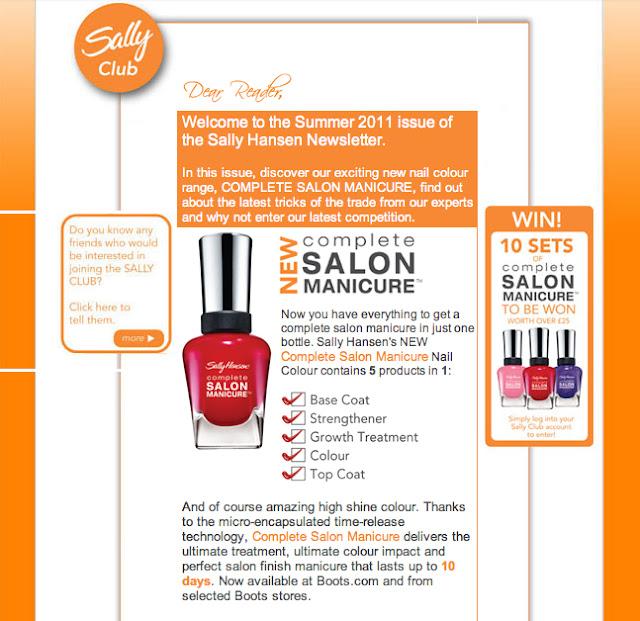 Balmain Beauty: Complete Salon Manicure by Sally Hansen - UK!