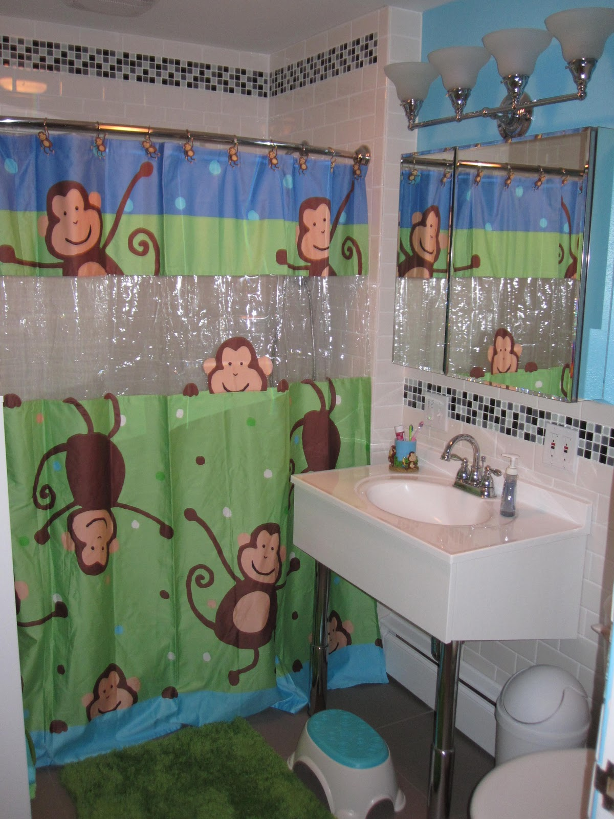 Kids Monkey Bathroom Sets Images Frompo 1