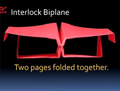 Interlock Biplane