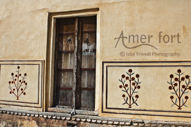 The Old Door - Amer Fort - clicked by Isha Trivedi