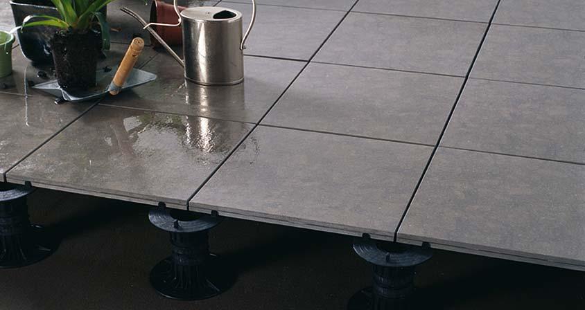 Superficies planas y est ticas para terrazas y solados - Suelo tecnico exterior ...