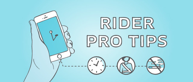 RIDER PRO TIPS FOR Respecting the Uber