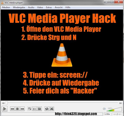VLC Media Player hack screen