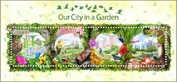 Our City In A Garden - Collectors' Sheet