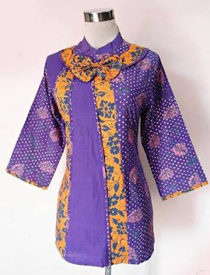 Baju Batik Kerja Karyawan Kantor