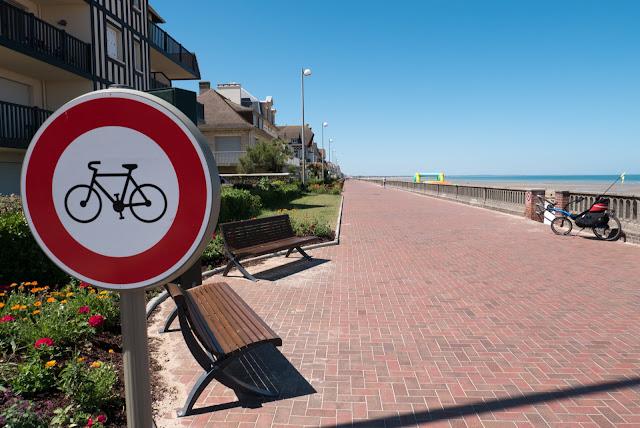Randonnée à vélo : Cabourg