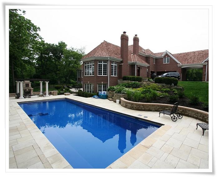 Inground pool landscaping ideas joy studio design for Inground pool landscaping designs