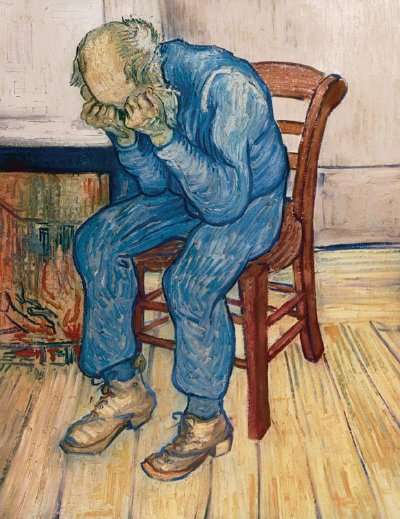 Vincent Van Gogh's BLUE MAN