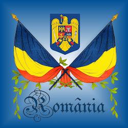 Le drapeau roumain et les armoiries