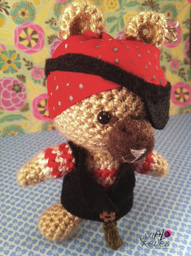 Osito Pirata Crochet