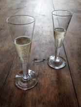 Champagne in Dalarna