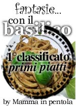 1° classificato categoria Primi Piatti
