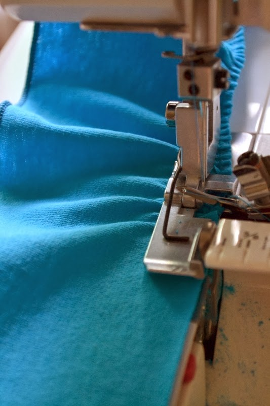 Как сшить юбку без оверлока 98