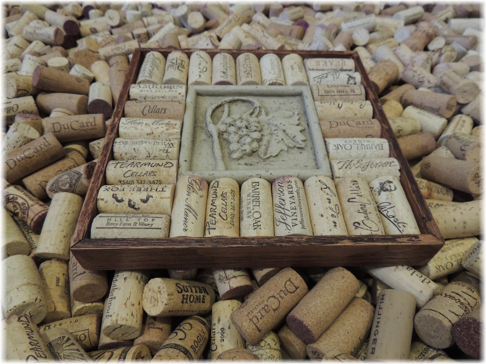 cork to barrel recycled wine bottle cork trivet. Black Bedroom Furniture Sets. Home Design Ideas