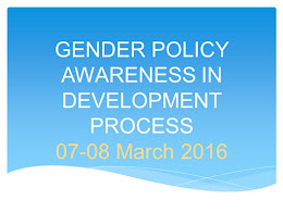 6. Gender policy awareness in development process