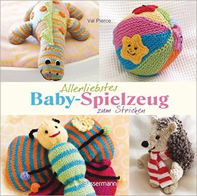 Babyspielzeug zum Stricken