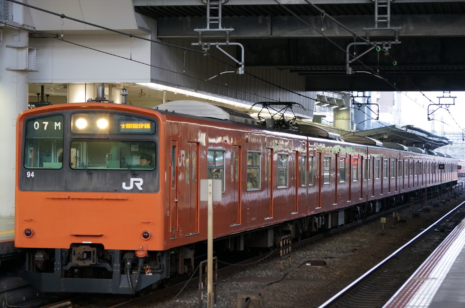 JR西日本大阪環状線を走る201系