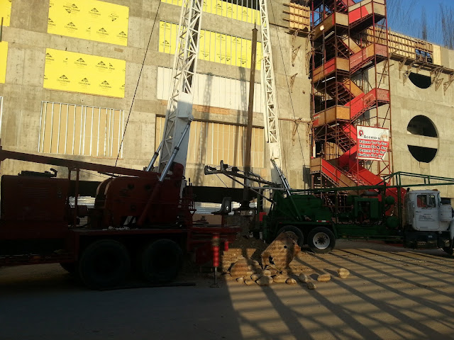 Avances Construccion Estadio Caliente Mayo 2013