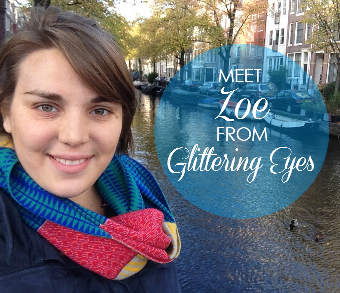 zoe from glittering eyes