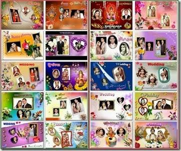 Indian Wedding Album Templates PSD 8x12
