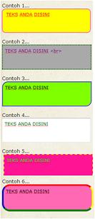 cara membuat teks area, membuat teks area unik, teks area menarik
