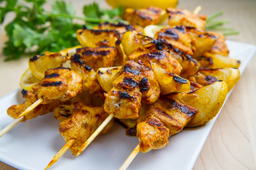 ... lemony moroccan style lemony moroccan style chicken kebabs recipes