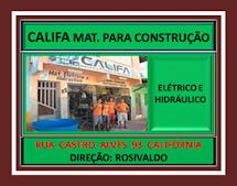 CALIFA MAT. CONSTRUÇÕES