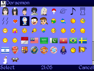 NarutoMood Emote Karakter Naruto for Java dan Symbian Screenshot0019