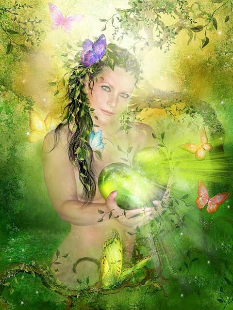 Heart Chakra Goddess
