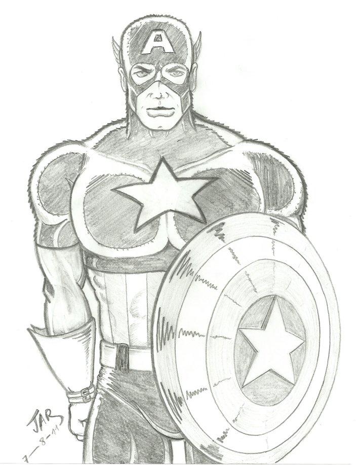 fter-studio: Capitán América, clásico