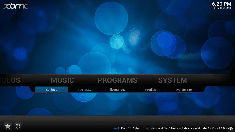 OpenELEC(XBMC)