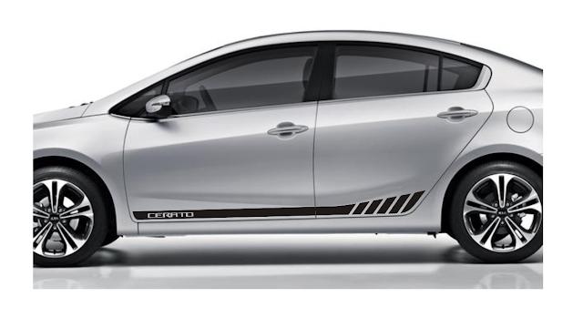 Novo kit adesivo KC3 para Cerato KIa 2015 2016 lançamento LA