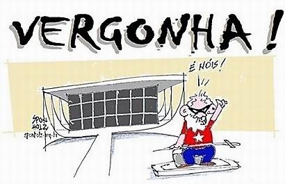 O salvo-conduto da vergonha: STF posterga decisão e veta prisão de Lula até lá