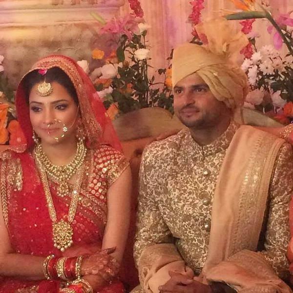 Suresh Raina Wedding/Marriage Pictures
