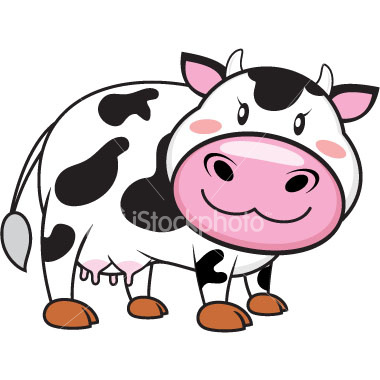 Wallpaper cow cartoon