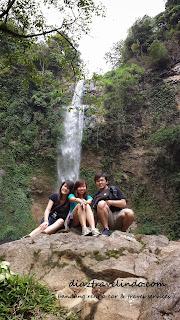 waterfall at bandung