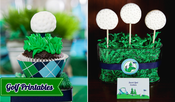 Golf Birthday Party Ideas: Golf Themed Birthday Printables!