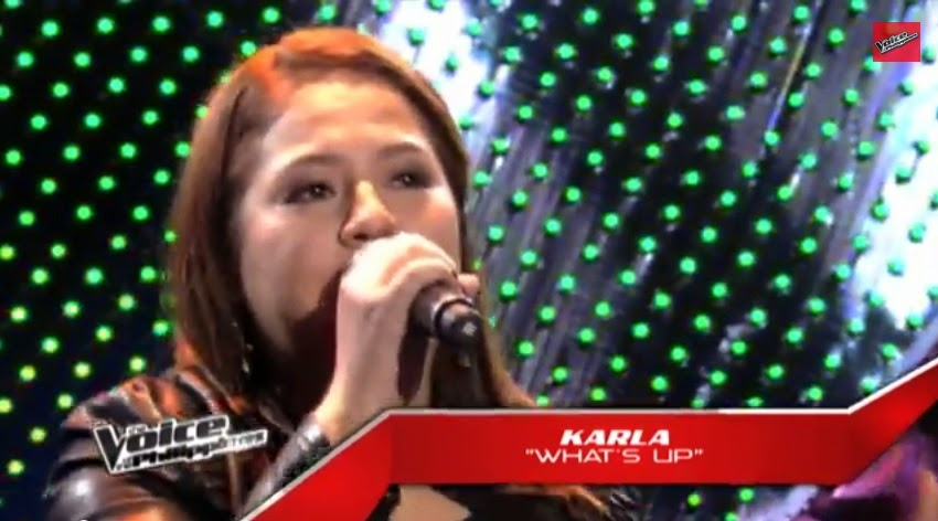 "Karla Estrada sings ""What's Up"" on 'The Voice Philippines' Season 2"