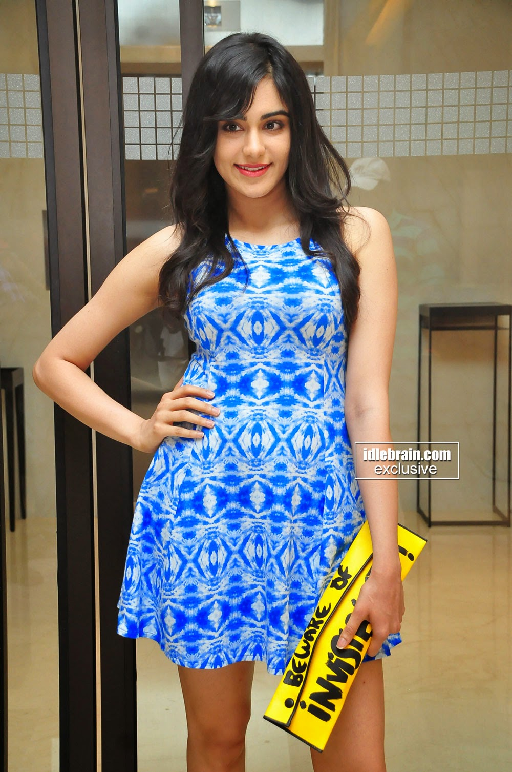 Adah Sharma mini gown