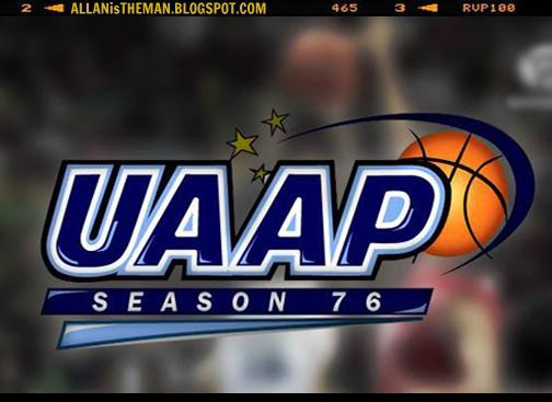 UAAP Season 76: Men's Basketball Games Schedule | ALLAN IS THE MAN