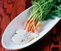 Carrots with Juniper Yogurt