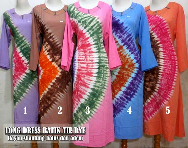 Long-dress-batik-modern-motif-tie-dye-terbaru