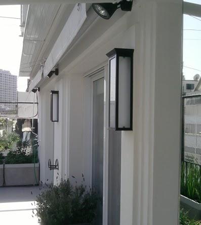 Faroles de exterior farol canadiense alto for Faroles de iluminacion exterior