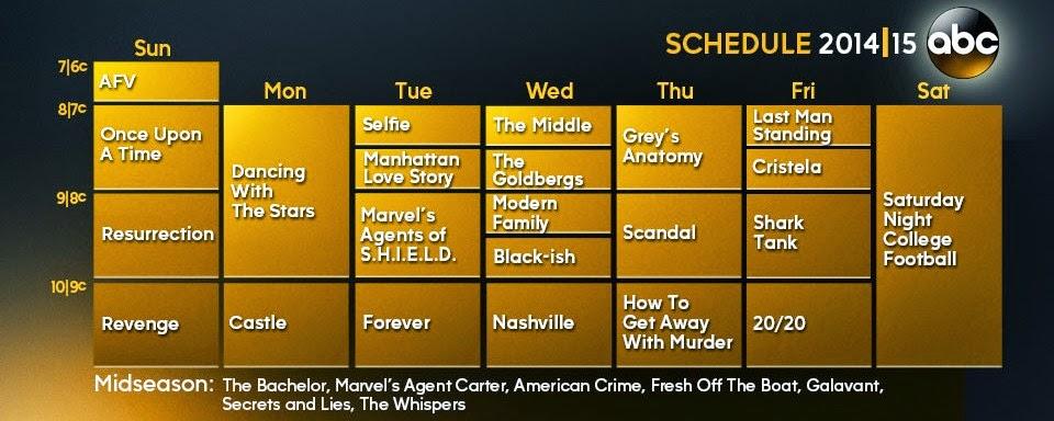 Grey anatomy schedule 2014